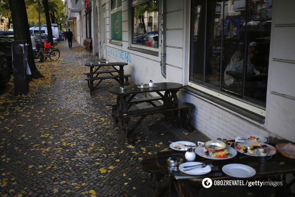 У Німеччині обмеження в пабах і ресторанах