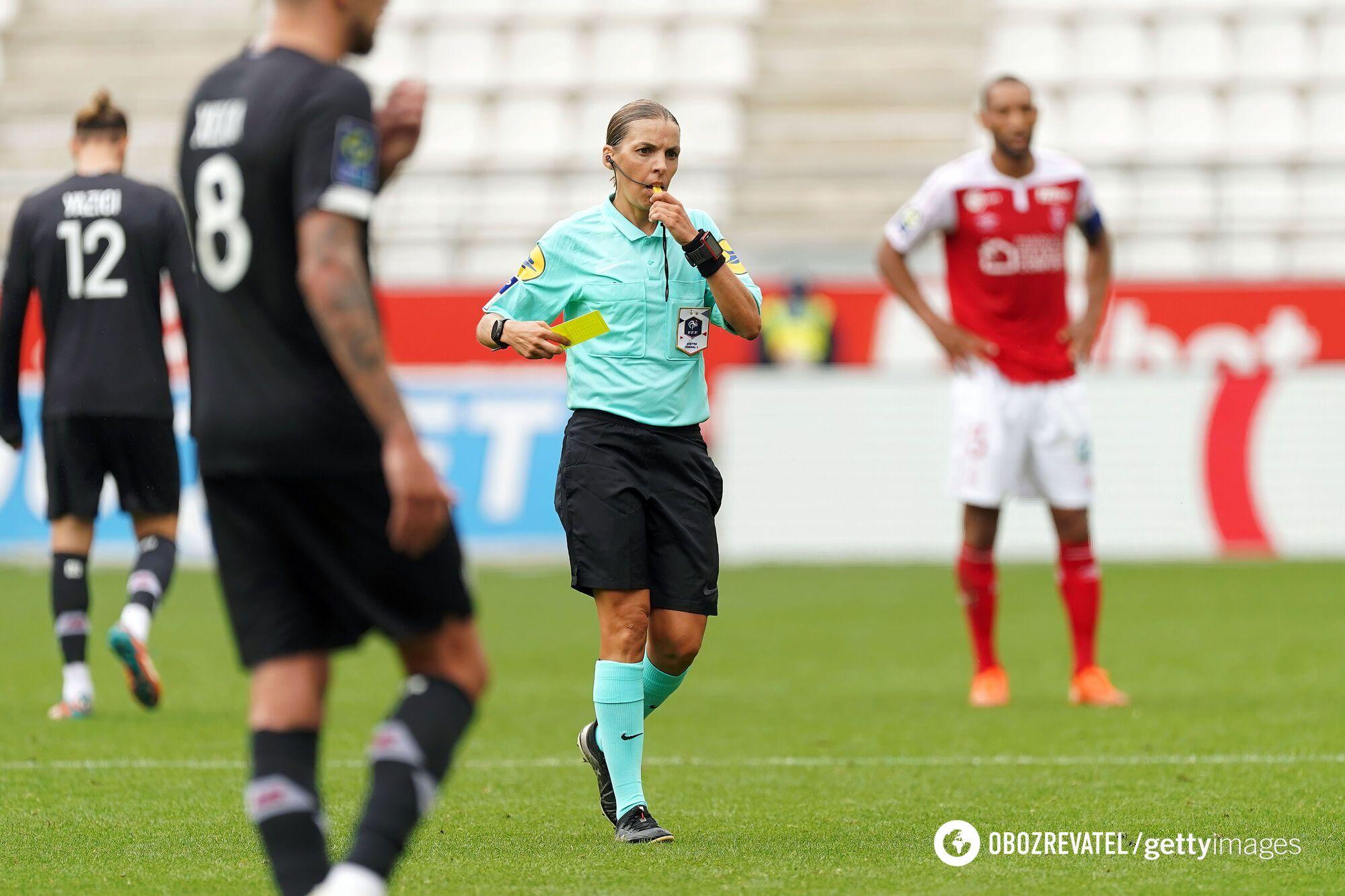 Стефани Флаппар станет первой женщиной, которая будет судить матч Лиги Европы
