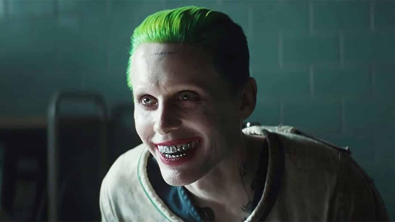 Джаред Лето в роли Джокера.