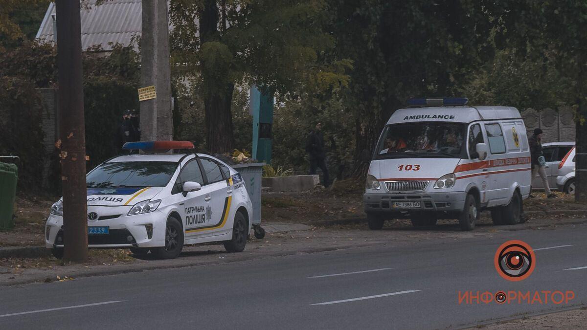 В Днепре посреди проспекта нашли тело мужчины