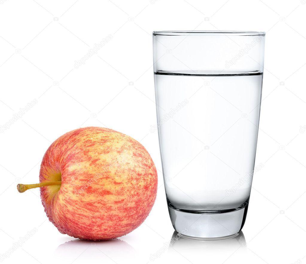 Яблука й вода – наша найкраща їжа.