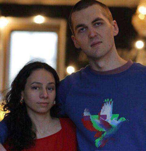 Картрайт з дружиною.