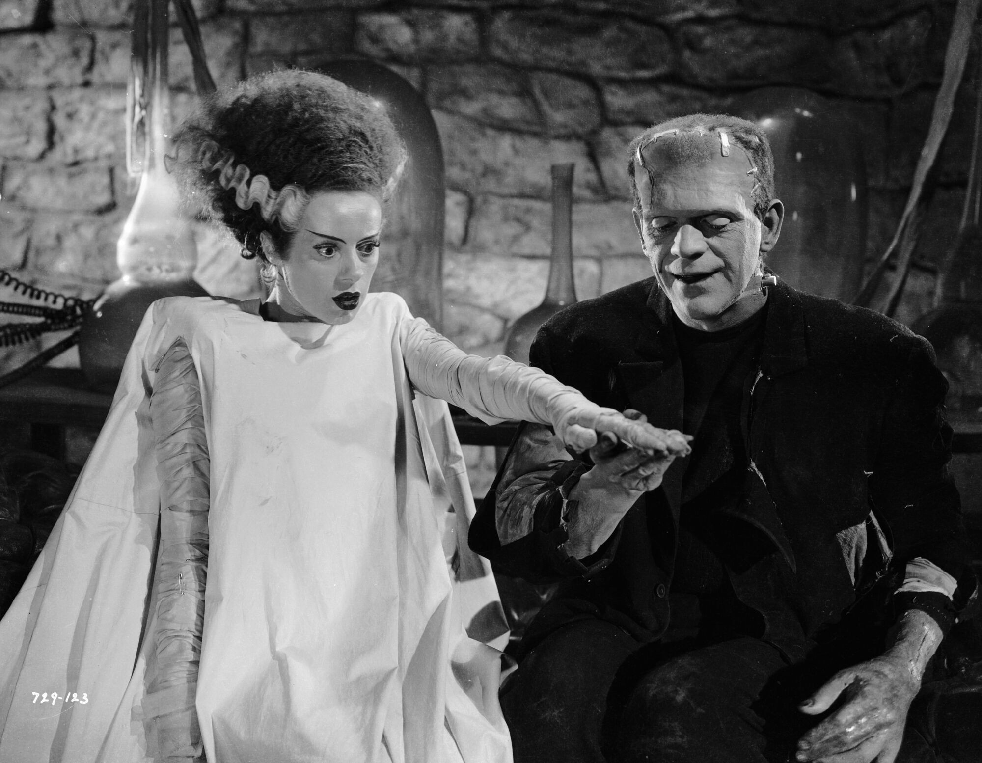 """Кадр из фильма """"Невеста Франкенштейна"""" (1935 год)"""