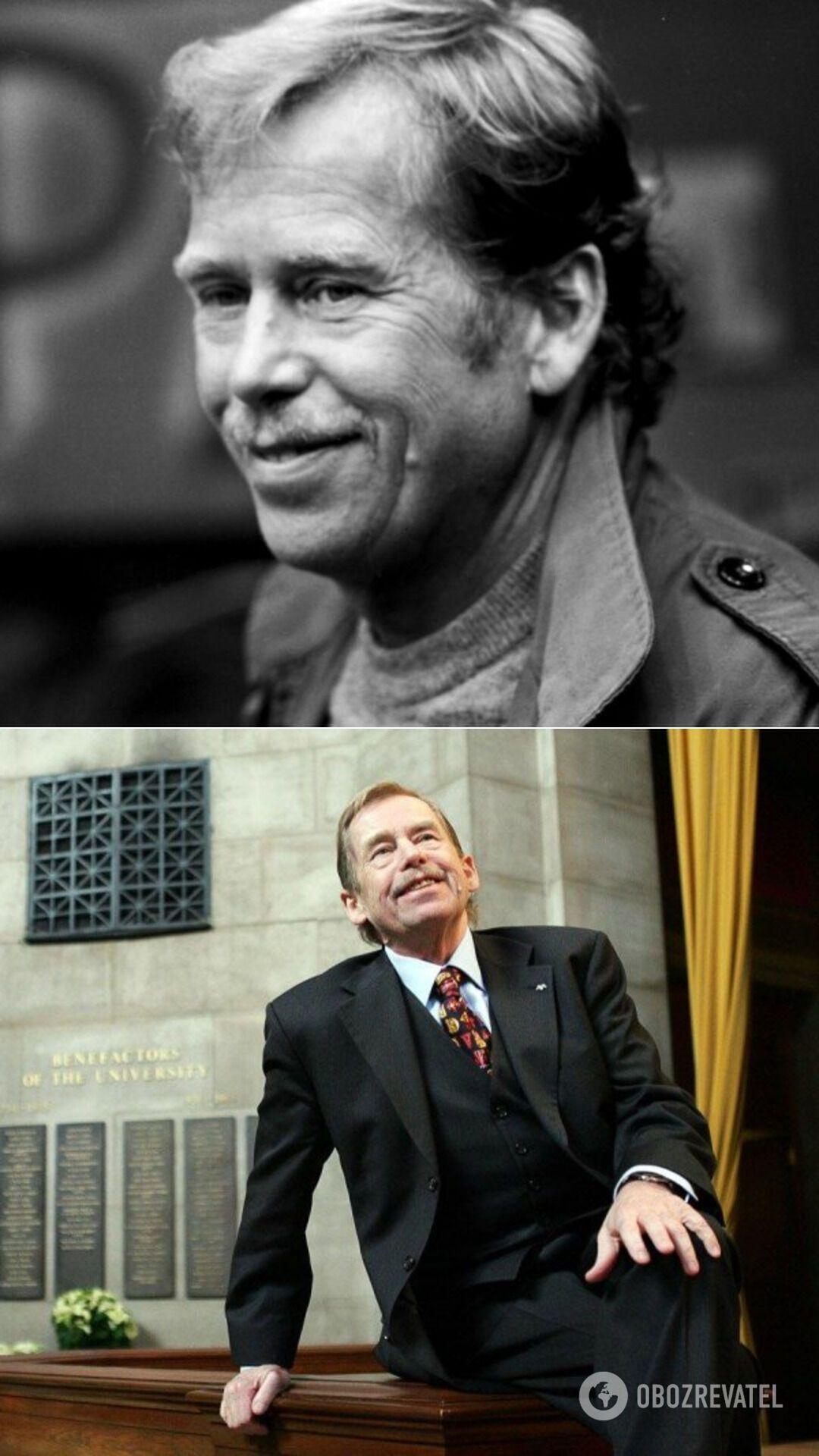 Писатель Вацлав Гавел был десятым и последним президентом Чехословакии, а также первым президентом Чехии (1993-2003 гг.)