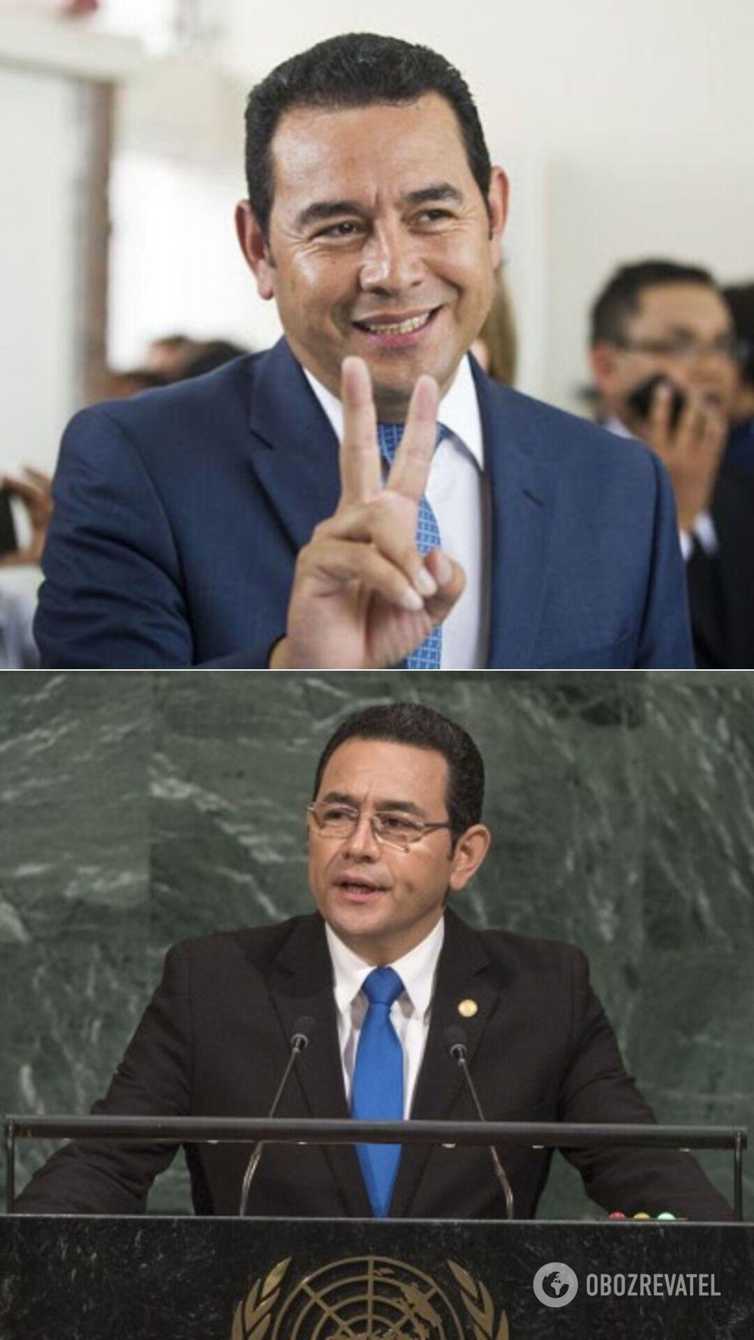 Комик Джимми Моралес – президент Гватемалы (с января 2016 года по январь 2020-го)