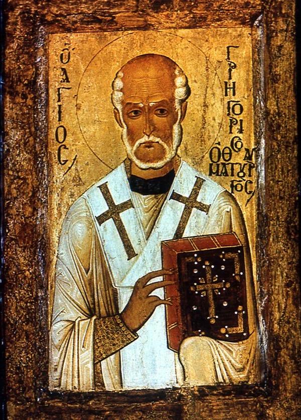 30 ноября почитают память святителя Григория Чудотворца