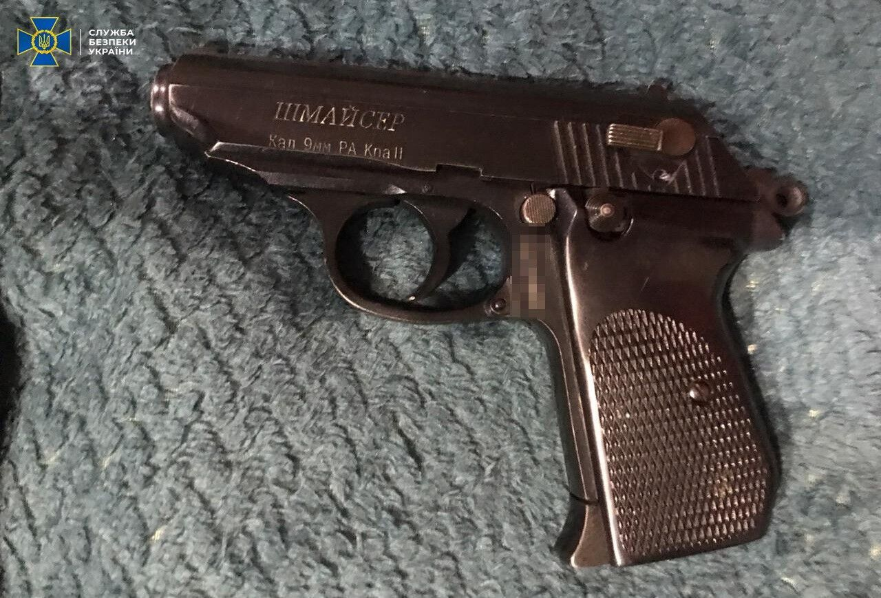 "Пістолет ""Шмайсер"" калібру 9 мм"