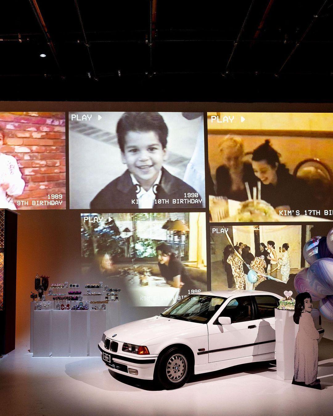 Родные подготовили видео, где собрали кадры из всех дней рождения Ким Кардашьян.
