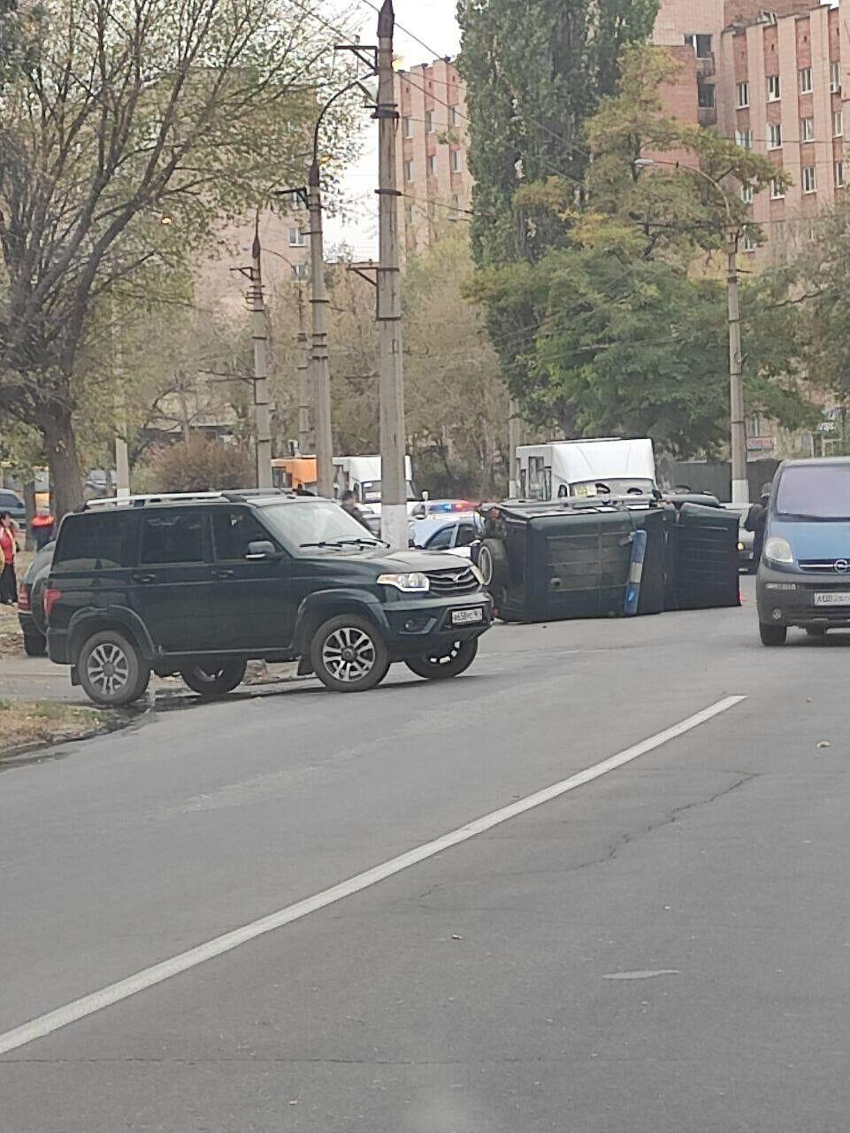 ДТП в Луганске