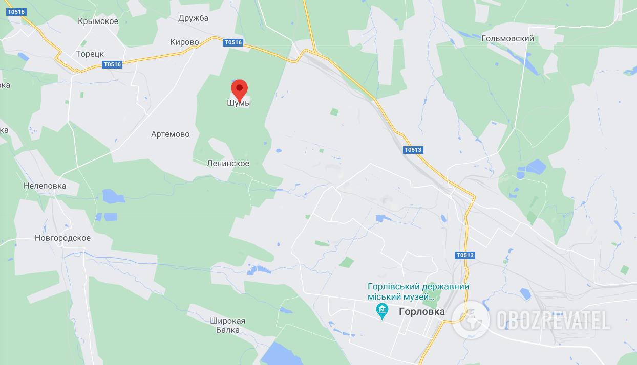 Войска РФ устроили провокации возле Шумов, – штаб ООС
