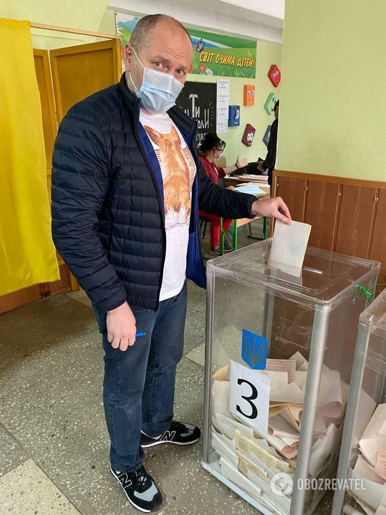 Береза проголосував на виборах