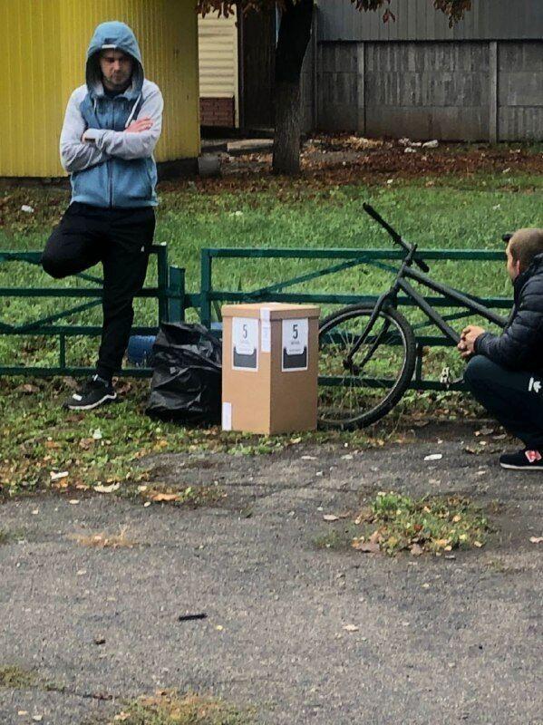 Опрос Зеленского в Мелитополе Запорожской области