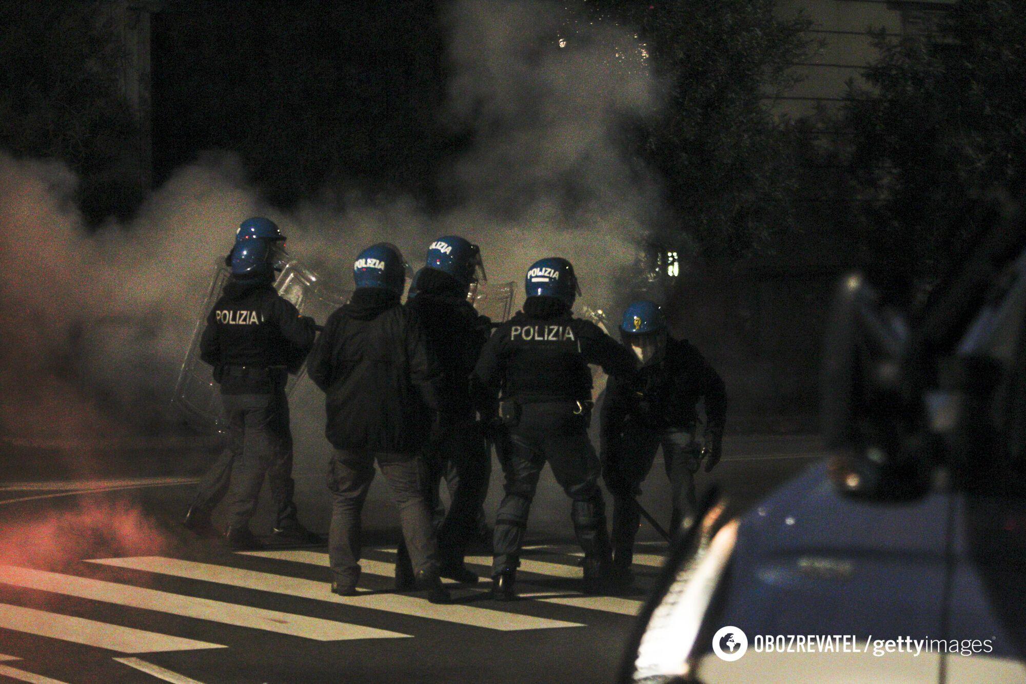 Поліція на протестах