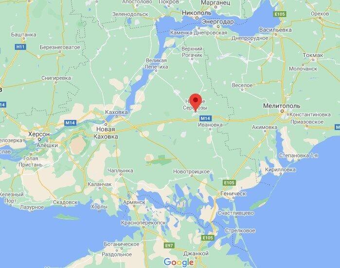 Инцидент произошел в Нижних Серогозах.