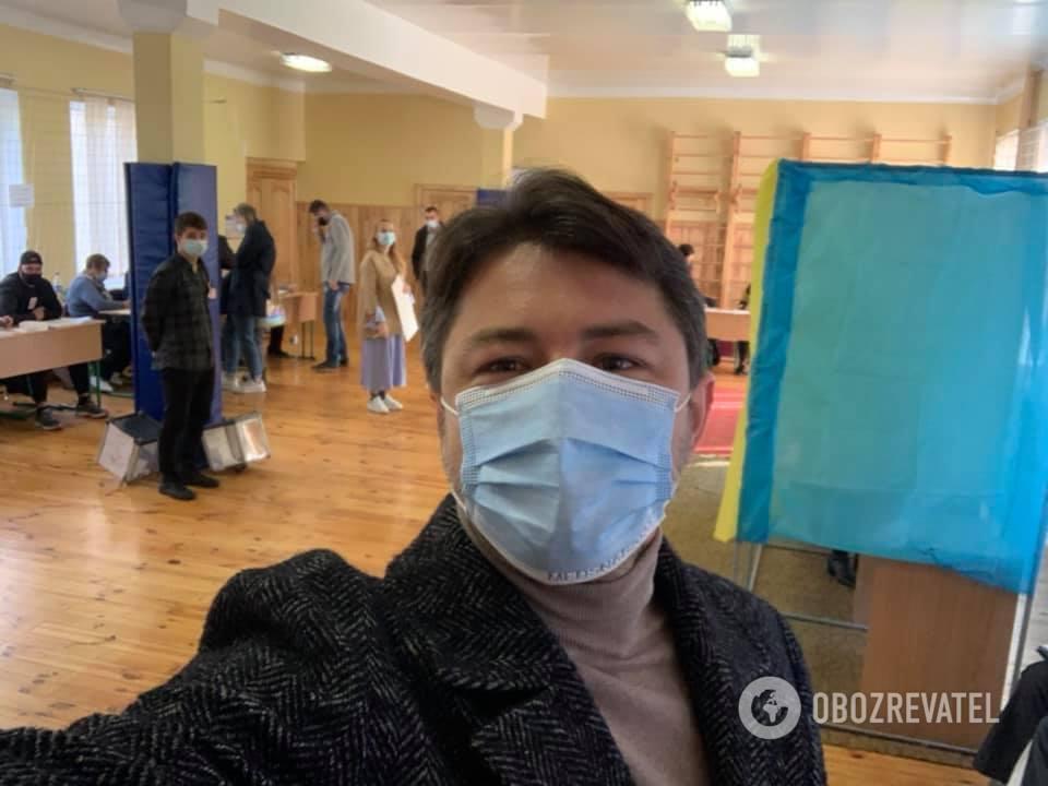 Сергій Притула проголосував у Києві