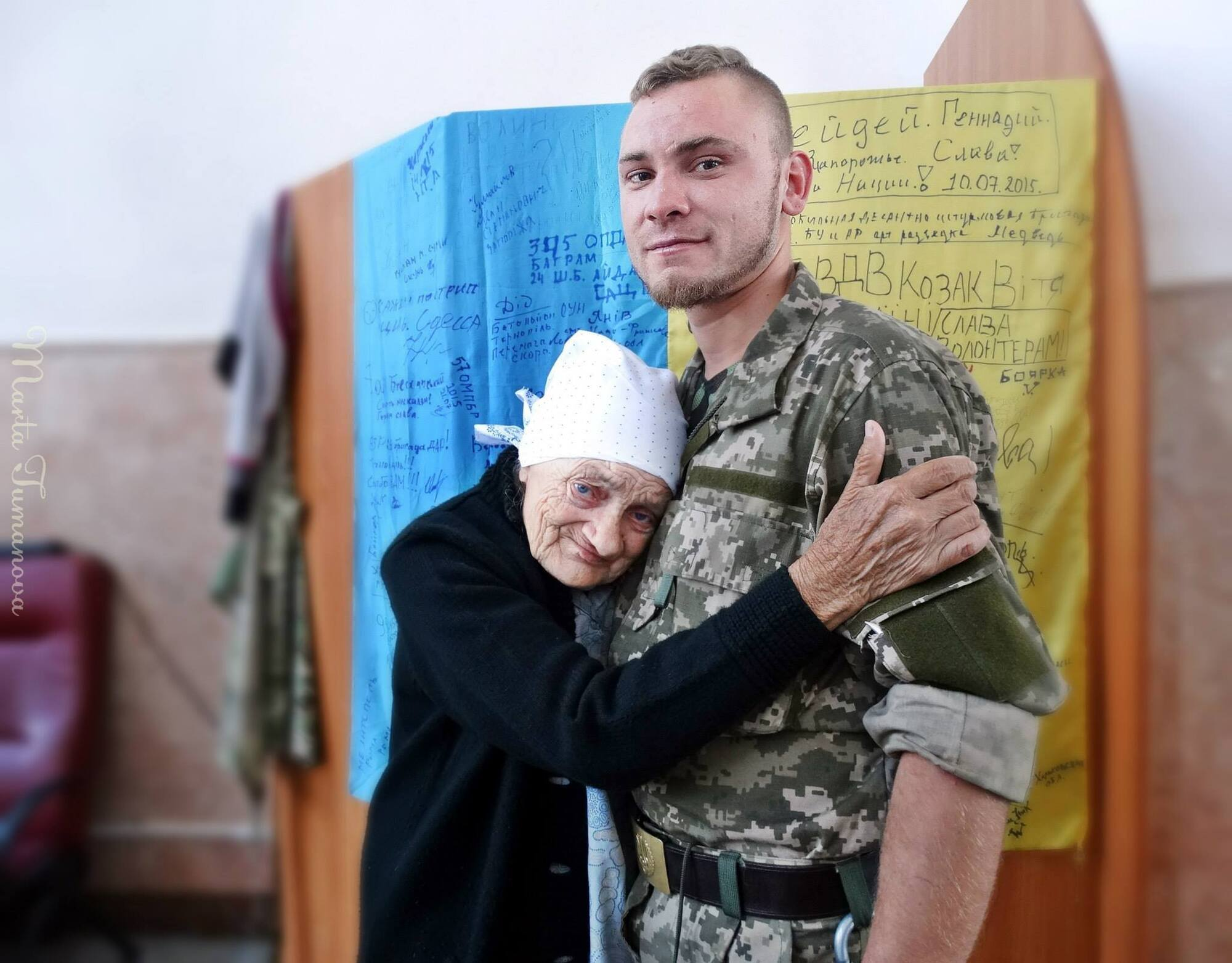 Людмила Савченко мріяла побувати на фронті з воїнами