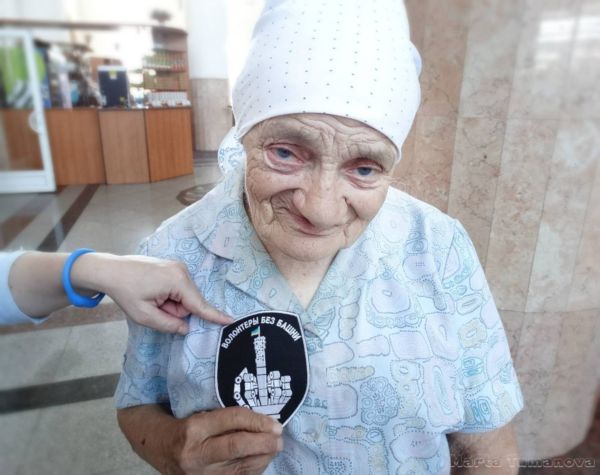 Попри поважний вік, волонтерка Савченко до останнього допомагала захисникам на Донбасі