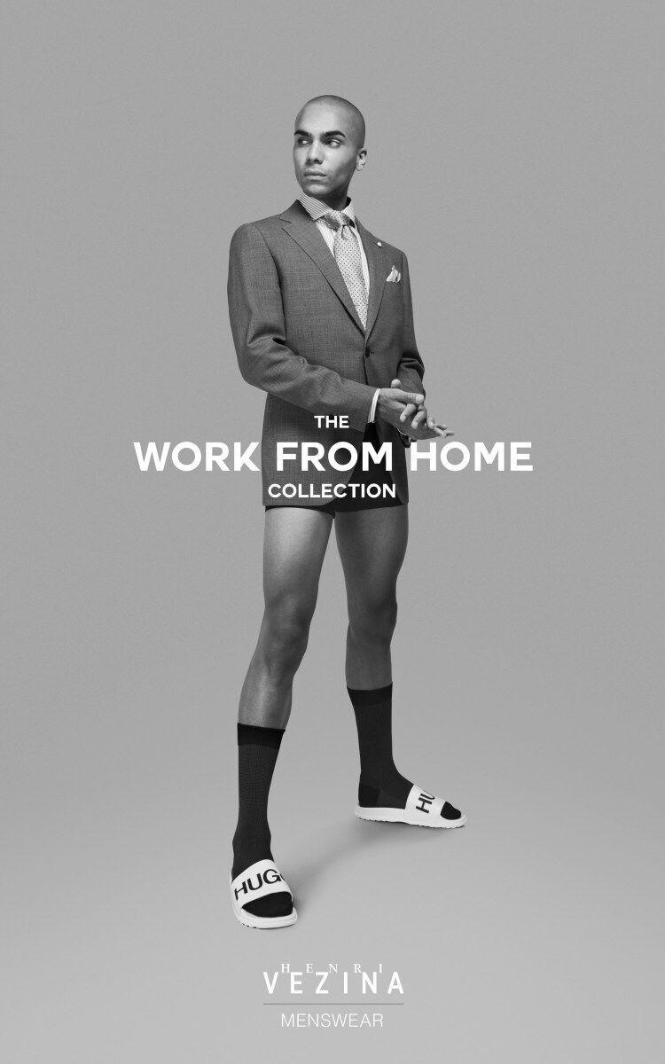 Дизайнери створили кумедний одяг для роботи вдома в період карантину