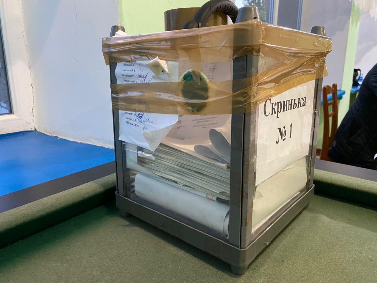 На Валильківщині викрито факт фальсифікації на виборах