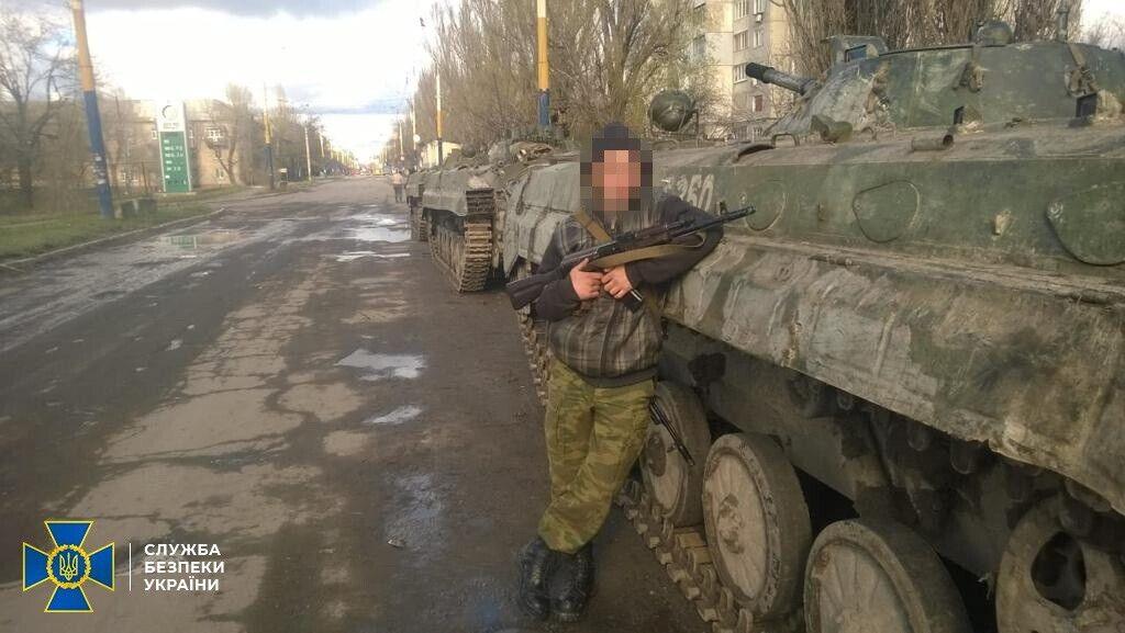 """Задержанному террористу """"ЛНР"""" избрали меру пресечения в виде содержания под стражей."""