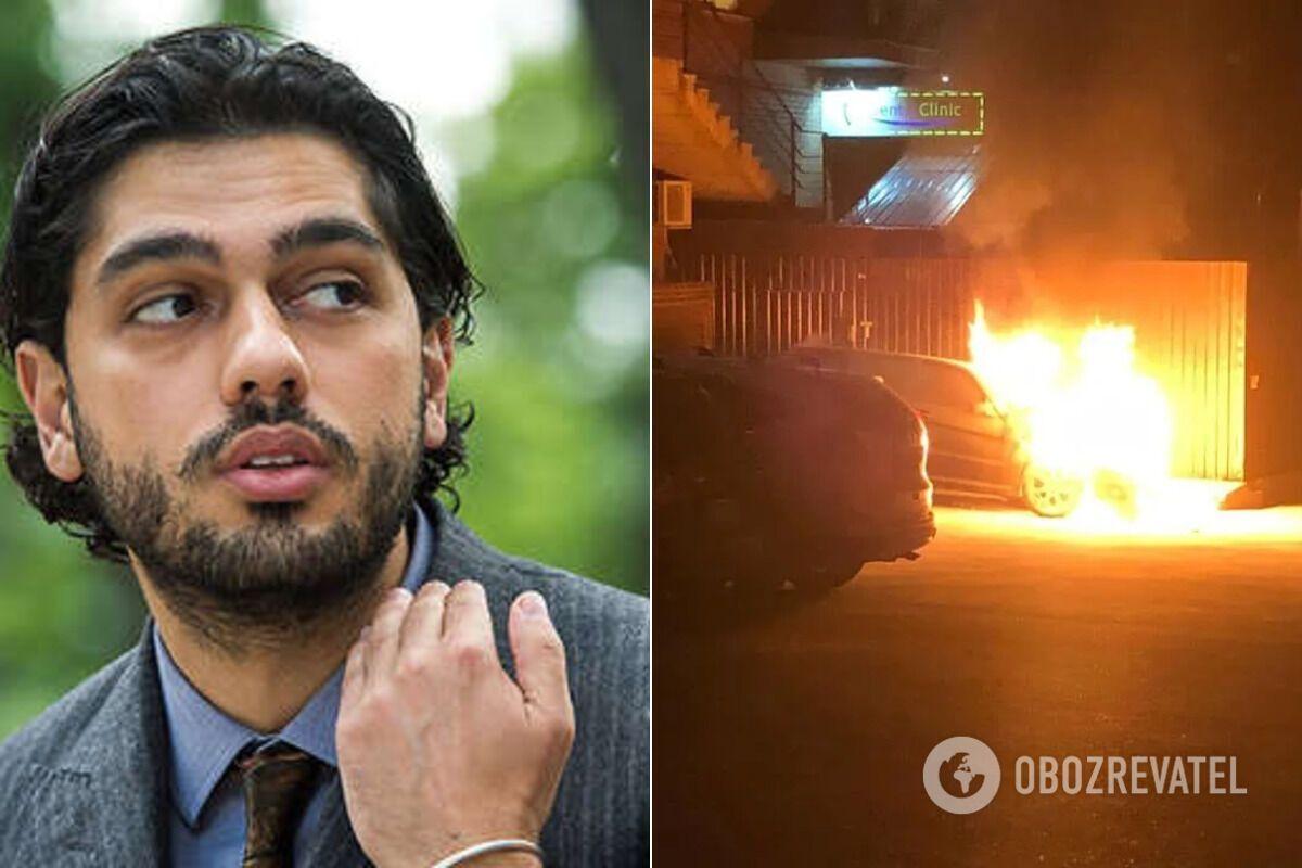 У серпні в Києві підпалили автомобіль народного депутата Гео Лероса. Він одразу заявив, що це за політичними мотивами
