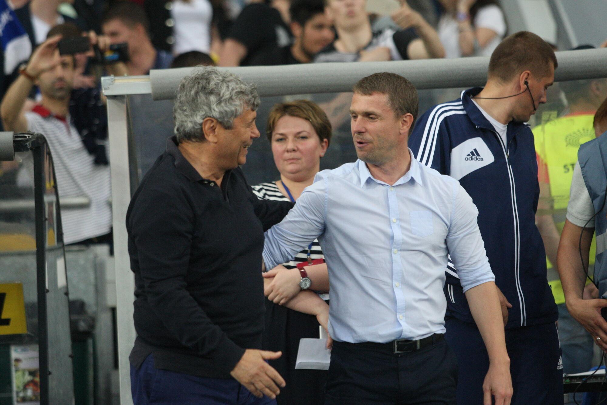 Мірча Луческу та Сергій Ребров провели 8 матчів між собою