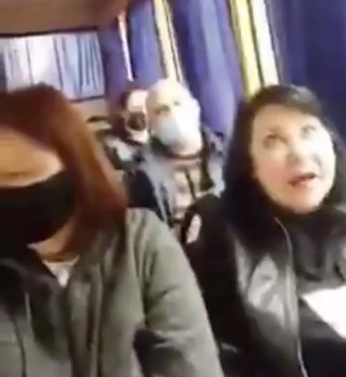 Агрессивная женщина, которая оскорбила украиноязычную жительницу Славянска