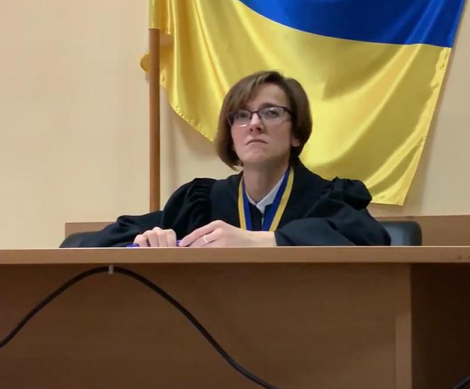 Судья Голосеевского суда Киева Александра Колдина