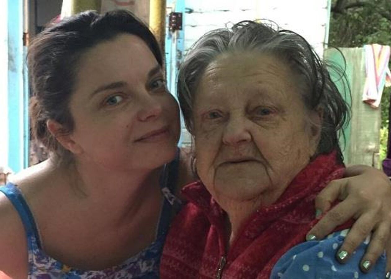 Наташа Королева и ее бабушка