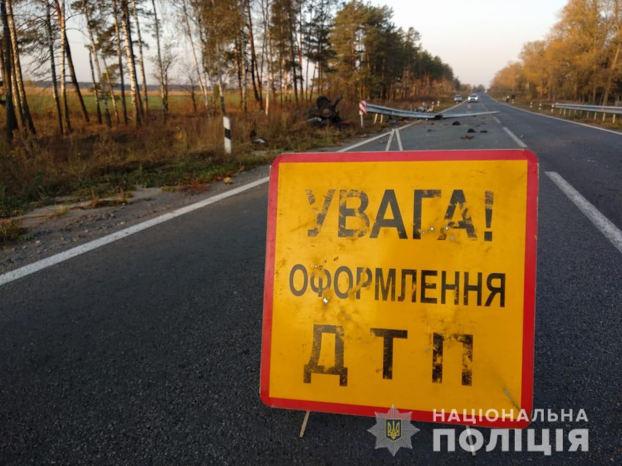 ДТП в Сумской области произошла на окраине села Маковое
