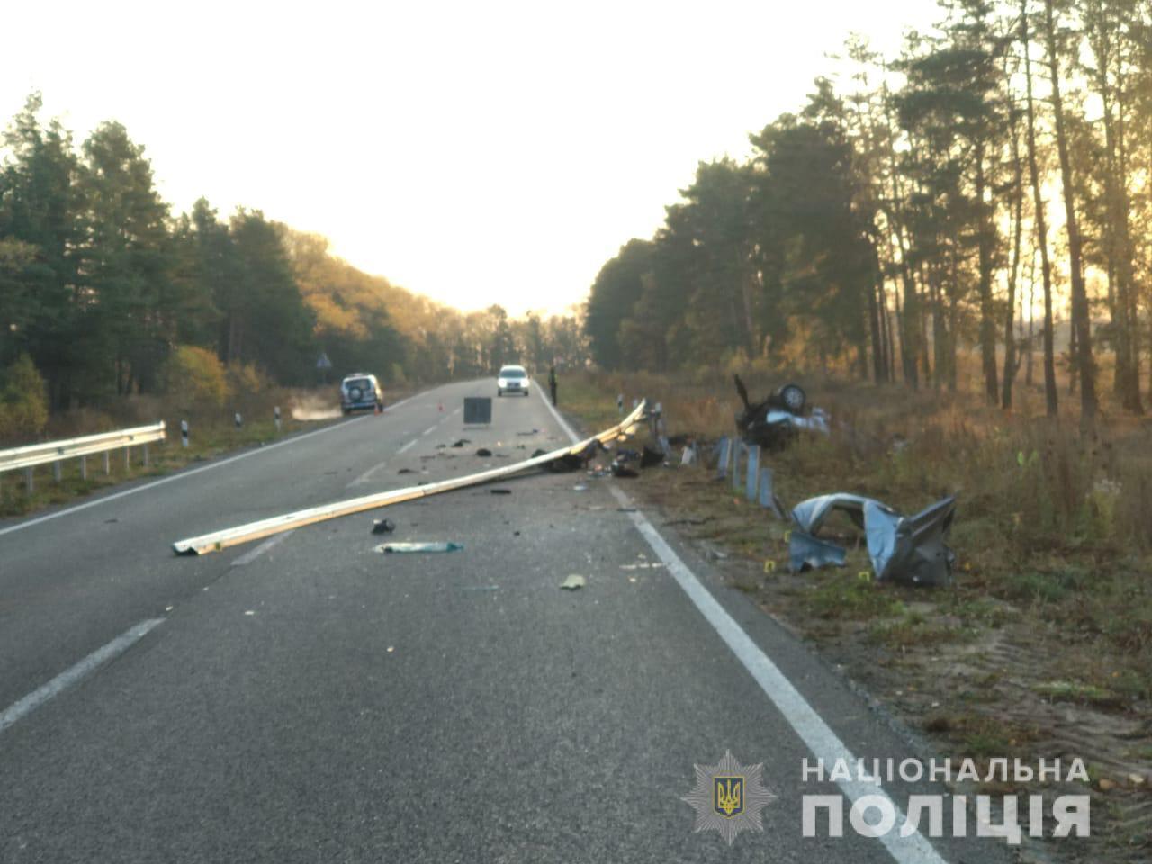 В аварии на Сумщине погибли 4 человека