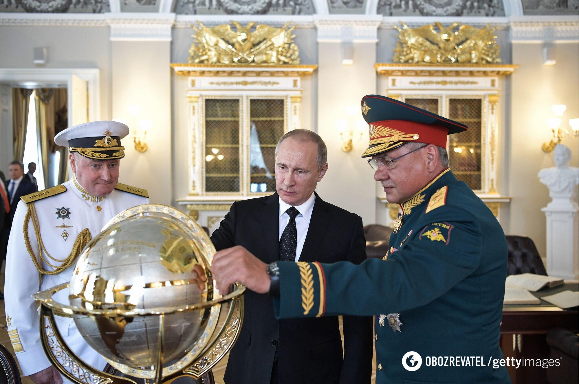 Президент РФ Владимир Путин готовится к эскалации на Донбассе