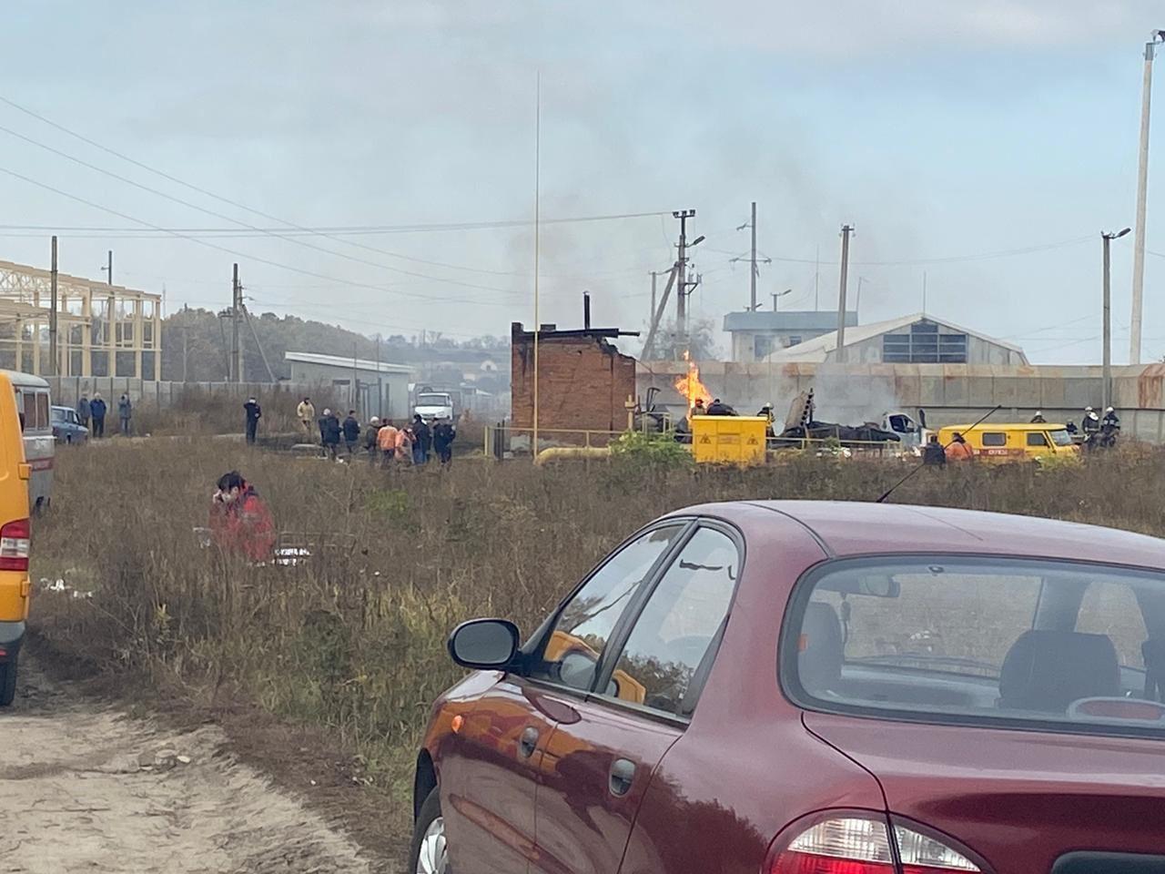 Тела погибших при взрыве на Харьковщине будут доставать из-под завалов