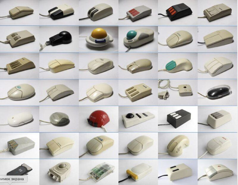 У мережі показали знімки колекції раритетних моделей комп'ютерної миші