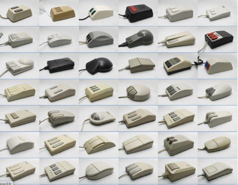 Першу комп'ютерну мишу було створено 1963 року