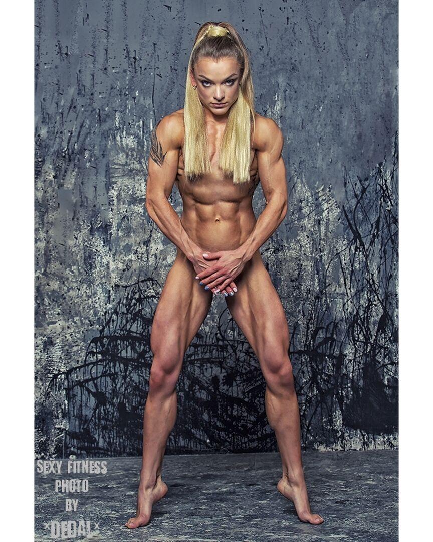 Анна Віткалова без одягу