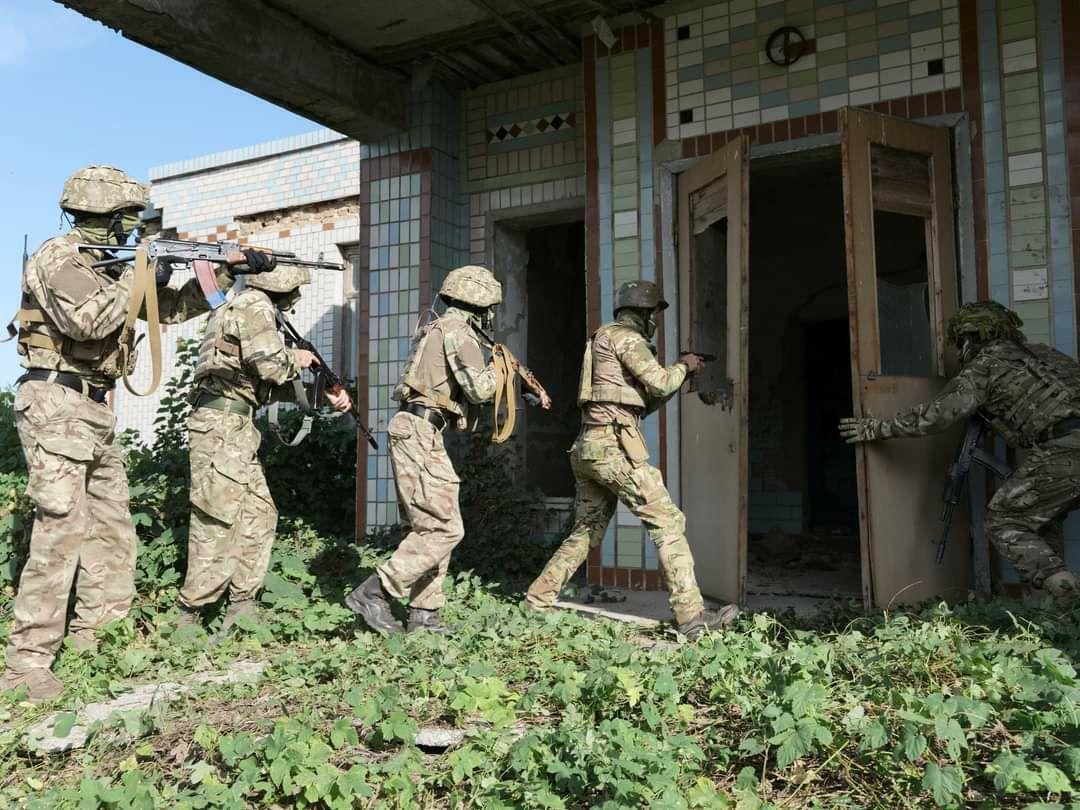 Тренування спецпризначенців ЗСУ відбувалося в наближених до бойових умовах