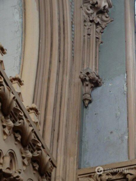 Через брак фінансування в костелі розпочалися руйнівні процеси
