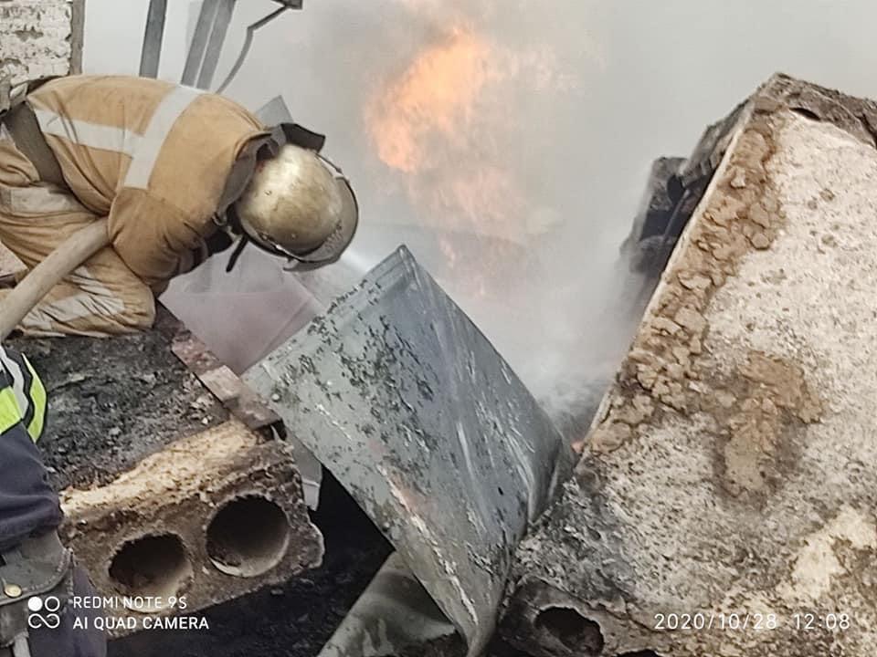 Взрыв привел к разрушениям части ГРП
