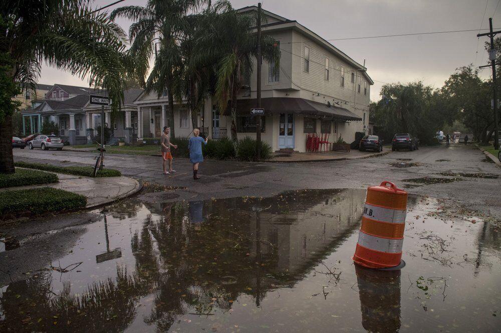 Місто затопило.