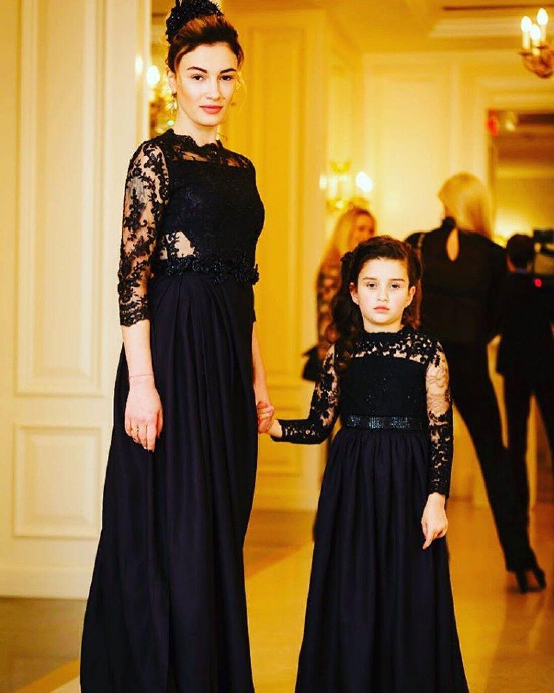 Анастасия Приходько с дочкой Наной