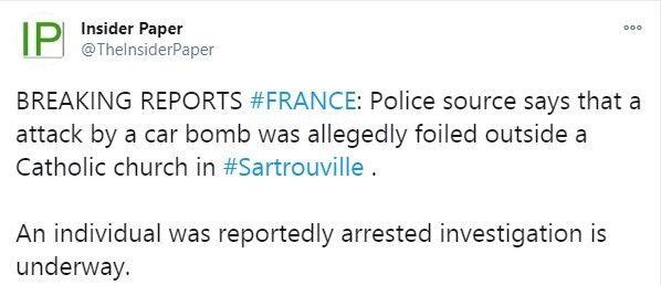 Полиция предотвратила взрыв авто
