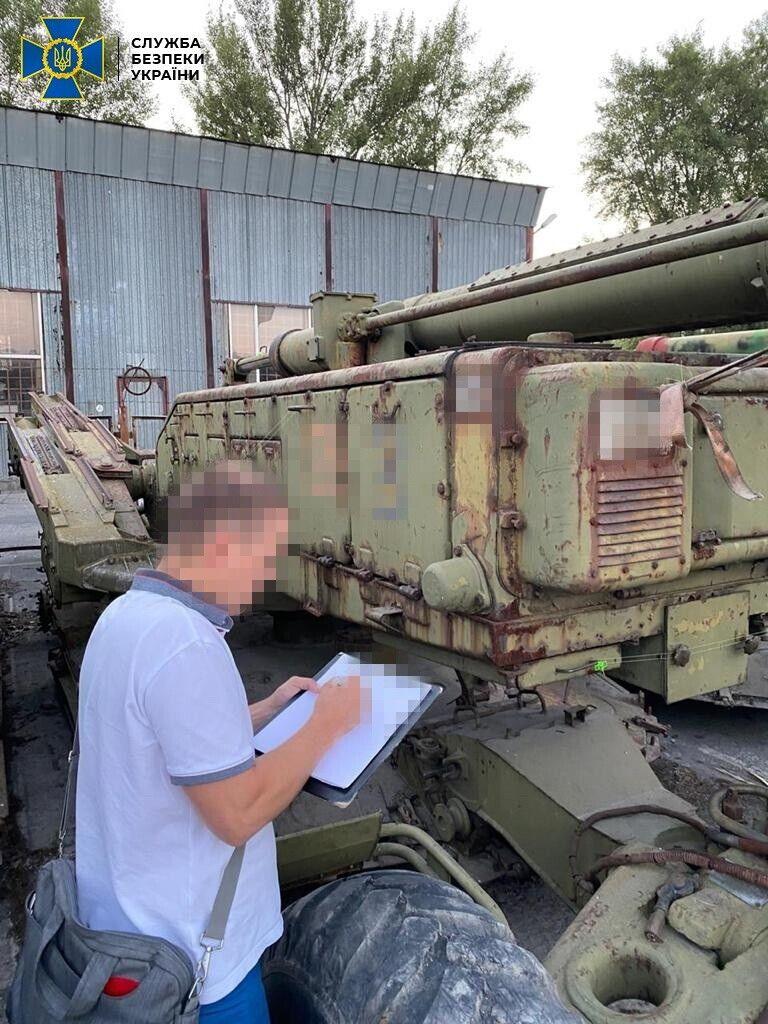 В Украину ввезли три зенитно-ракетных комплекса советского производства