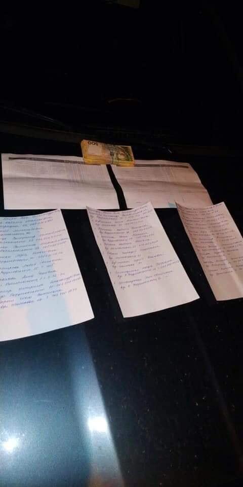 """Изъяты списки избирателей с указанием так называемых """"десятников"""" и 66 тысяч гривен"""