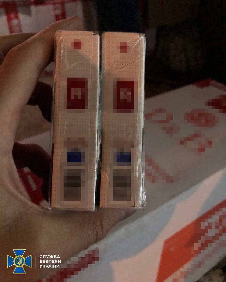 СБУ задержала партию контрабандных сигарет