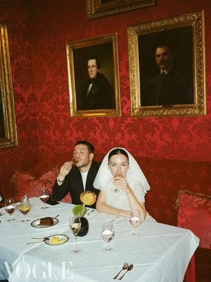 Весілля Ольги Серябкіної та Георгія Начкебії