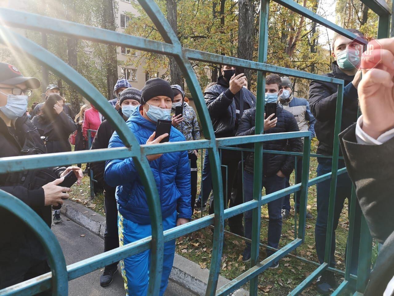 Экс-директор Семенюшко поднял студентов на забастовку