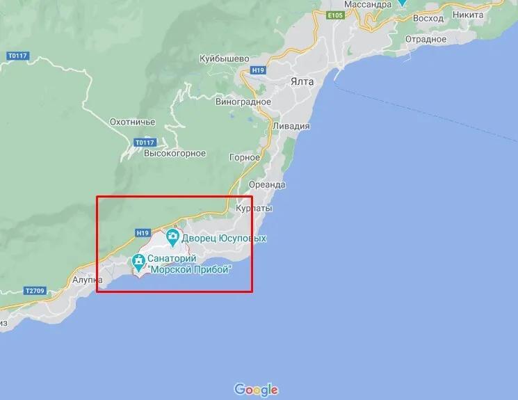 Участок Тупицкого в Кореизе