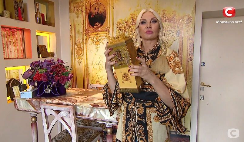 """Светлана Вольнова показала """"Китайскую коробочку"""" для исполнения желаний"""
