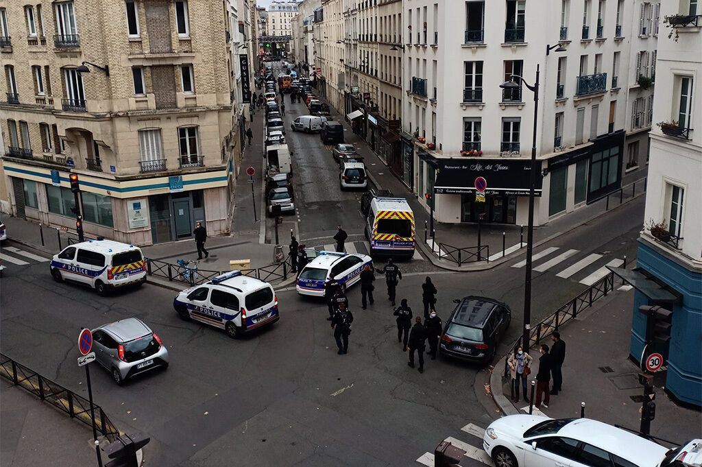 Полиция оперативно прибыла на место